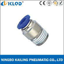 Pneumatic Round Male Straight One Touch Fittings for Air Poc16-04