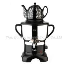 Sf270-588 Turkish Samovar, Electric Kettle, Russian Samovar with Ceramic Teapot