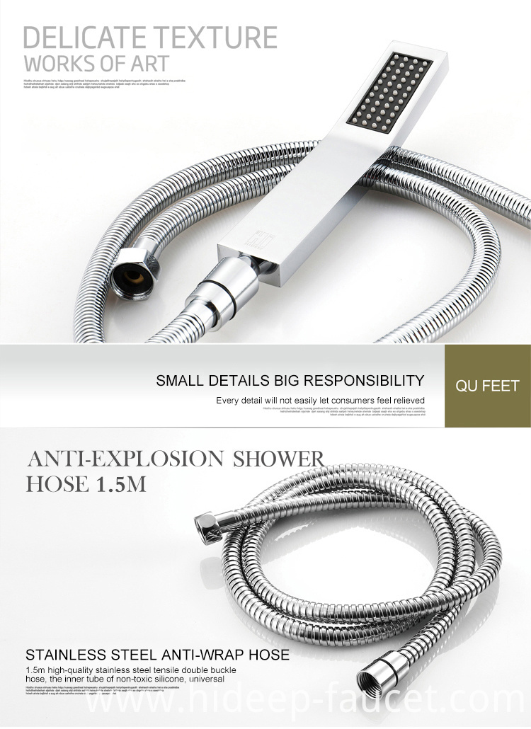 Bathroom Faucet Set Rainfall
