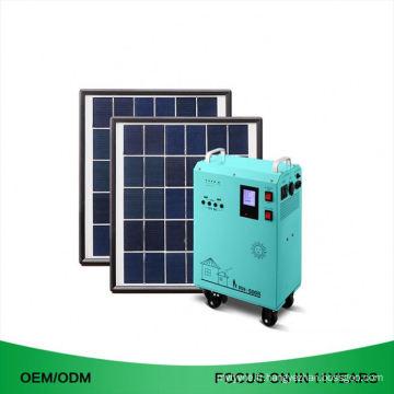 15W Ac sortie 110V 220V hors générateur solaire portatif de kits solaires portatifs de grille