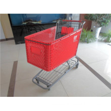 American Style Plastic Shopping Trolley