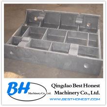 Fundición de hierro gris: fundición dúctil de hierro mediante fundición en arena y fundición de espuma perdida