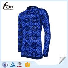 Chemise sans couture de remise en forme Chemise sans couture faite sur commande d'hommes