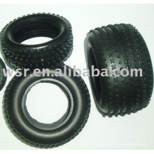 Custom butyl rubber RC tires