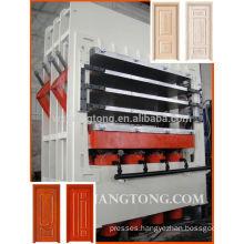HDF veneer hot press machine/Door skin laminate hot press machine