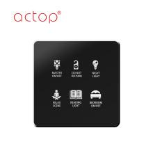 Interruptor de alimentación de la tarjeta de la habitación del hotel e interruptor de control del servicio de habitaciones