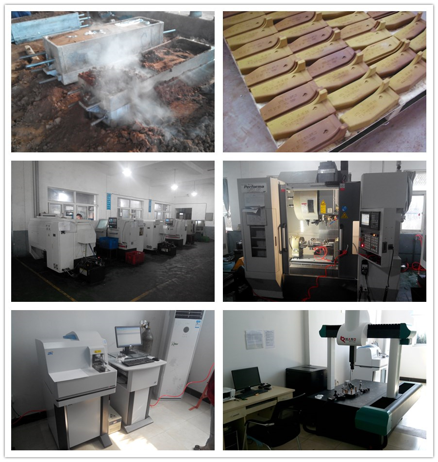 Aluminum sand casting equipment and QC control