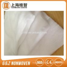 fornecedor não tecido da porcelana do produto de algodão do spunlace da tela de algodão