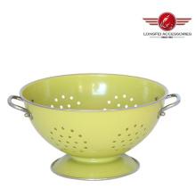 Boules de panier de fruits de haute qualité en métal avec peinture colorée
