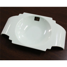 White Imitation Ceramic Melamine Tableware Bowl (CP-030)