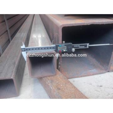 MS Carbon Black Стальная квадратная труба / оцинкованная / предварительно оцинкованная квадратная труба