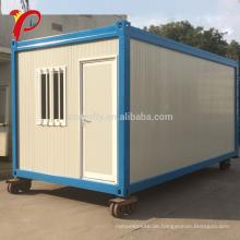 Malaysia Flat Pack neues Design fertig Stahl 20 Fuß erweiterbar Living Container House