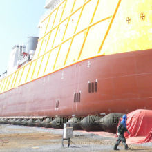 Floating Pneumatic Ship Launching Airbags / Inflatable Marine Rubber Airbags for Ship Launching Landing, Heavy Lifting, Upgrading
