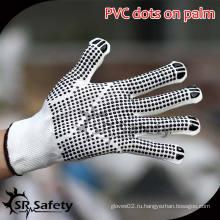 SRSAFETY 13G Струнные трикотажные нейлоновые перчатки с перчатками из пвх