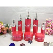 Nuevo estilo plástico acrílico empaquetado cosmético 2ml 5ml 10ml 15ml 20ml 30ml 50ml 100ml 150ml 200ml