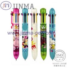 La Promotion cadeaux en plastique multicolore Ball Pen Jm-M001