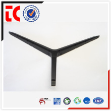 High quality black painted aluminium die cast displayer rack