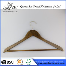 Top Quality Natural Wooden Hanger Fashion Wood Hanger