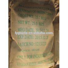Fabricante de citrato de magnésio de qualidade alimentar