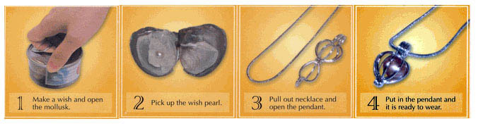 how to use instructions for normal love pearl gift set
