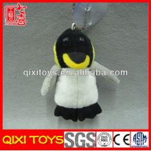 Porte-clés en peluche pas cher poupée en peluche pingouin