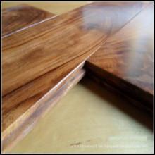 Akazien-fester Hartholz-Bodenbelag / Parkett des kleinen Blattes