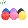 Squeaky Giggle Dog Toy silikon Pets Ball Chewtoy