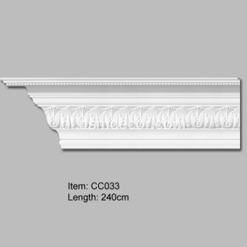 Gesneden Acanthus Leaf Crown Moulding