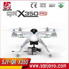 Walkera QR X350 PRO GPS Phantom rc quadcopter FPV rc drone with DEVO F7 and ilook camera