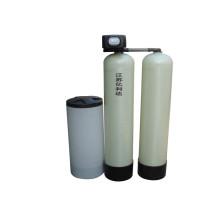 Ein Arbeits-Ein-Standby-Einzelventil Automatischer Wasserenthärter