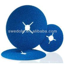 Disque de fibre de haute qualité de zircone d'alumine de 100 millimètres fait en porcelaine
