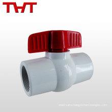 "Generally used 1/2""-4"" water Medium plastic mini ball valve"