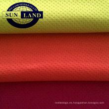 tejido de malla de poliéster cepillado para sudadera con capucha de invierno