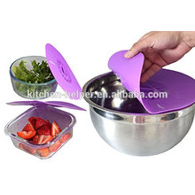 Microondas / forno usando tampa da tampa do silicone da flor do cofre forte da máquina de lavar louça / tampa da sucção do silicone / tampão da tampa do silicone