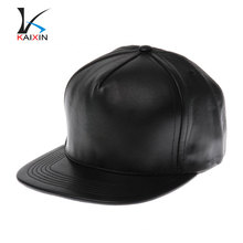black leather snapback hat wholesale blank cap and hats