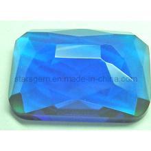 Moda azul cúbicos zircônia gemstone beads