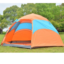 Automatic Outdoor 4-5person Double Glass Rod Windproof Rainproof Tent