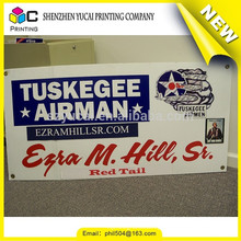 Hot sale custom PVC printing outdoor pennants banner flag and double-sided positive outdoor banner