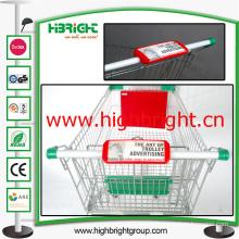 Shopping Cart Handle Advertising Board