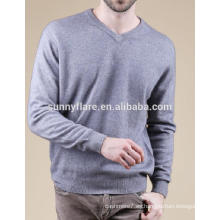 Suéter de cachemir de alta calidad para hombres