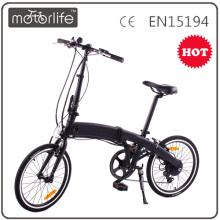 Motorlife 20-Zoll-Reifen günstig faltbar ebike, schnell faltbare elektrische Citybike