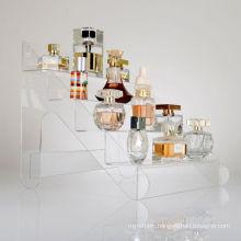 Retail Acrylic Display Steps for Displaying Perfume Bottles