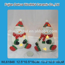 Christmas ornaments ceramic candle holder
