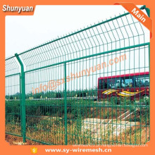 SHUNYUAN revestido de PVC Wire Mesh Fence