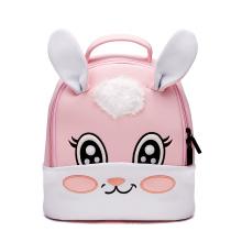 Cute 3D Embroidered Rabbit Children School bag