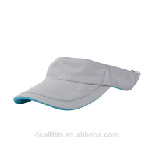customized color sport sun visor with sandwich