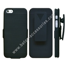 iPhone 5 Case Cover Slim Rubberize Protector Holster with Ki