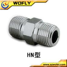 De alta pressão NPT em aço inoxidável montagem mamilo 1/2