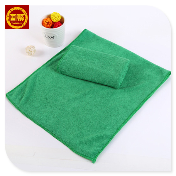 China Supplier 3030cm 4060cm Microfiber Terry Cloth