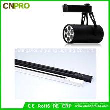 Projecteur LED de série de lumière de piste de la conception 7W propre pour l'éclairage d'affichage